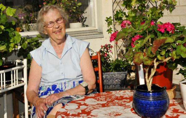 Linnéa Westberg. Foto: Carin Tellström.